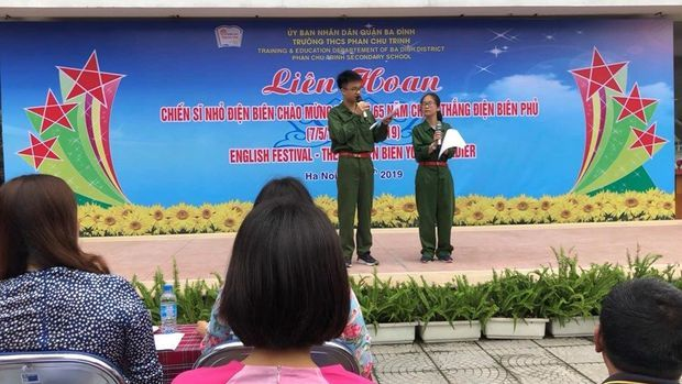 "English Festival ""Dien Bien Young Soldier"""
